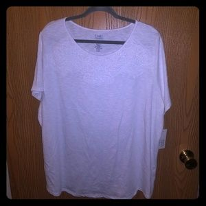 Croft & barrow white shirt